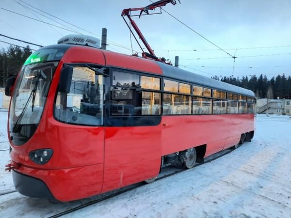 Златоуст новый трамвай