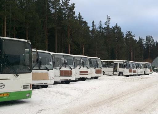 маршрутки автобусы ПАЗ Златоуст